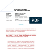 Ri 0005755-76.2015.8.05.0256 Voto Ementa Não Conhecido Por Deserção