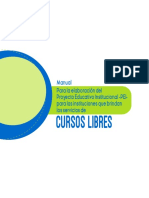 Manual Pei Cursos Libres