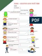 Apresentar-se em português - exercícios
