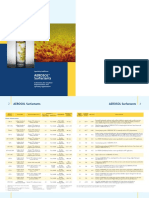 AEROSOL Surfactants Brochure