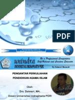 Materi Pendidikan Agama Islam Unindra