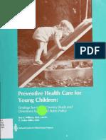 Preventive Health Care for Young Children