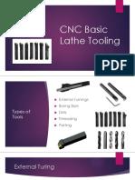 CNC Basic Lathe Tooling