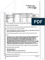 1 Application for Search Warrant, Search Warrant, & Search Warrant Return