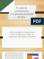 El estilo de comunicación.pptx