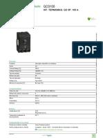 Interruptores Termomagnéticos QO _ QOB_QO3100