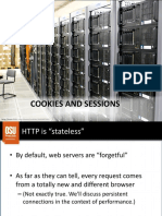 6. Cookies and Sessions
