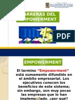 Barreras de Empowerment
