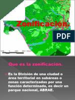 Exposicion de Zonificacion.