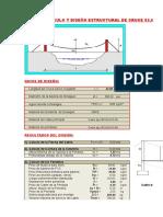 2. Diseño estructural de cruce