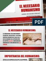 EL NECESARIO HUMANISMO».pptx