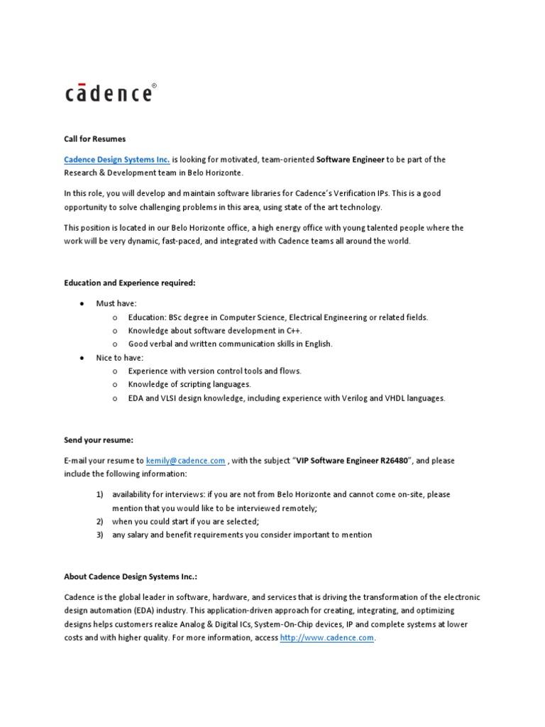 R26480 Software Engineer I VIP pdf