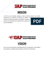 Misión y Visión Uap