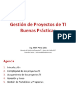 08 - Gestión de Proyectos - Buenas prácticas
