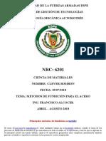 Metodos de fundicion del acero Ciencia de materiales.docx
