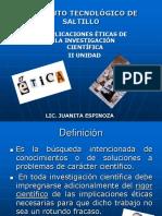 II Unidad Etica en La Ciencia y La Tecnologia