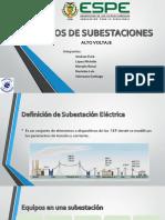 Tipos de Subestaciones