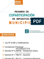3 Regimen de Coparticipacion de Impuestos(1)