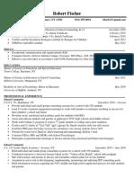 robfischer resume