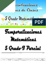 5 Grado Matematicas