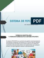 Sistema de Fefo y Fifo