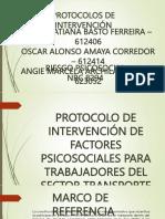 Diapositivas Protocolos de Intervencion Grupo 3