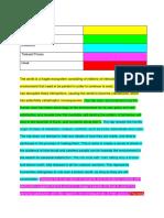 sample paragraph