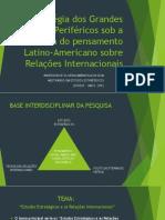Apresentação Do Delineamento - Trabalho III - Fase III - Metodologia v. 12