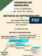 Métodos de Refrigeración 2018