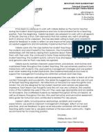recommendation letter for valerie