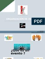 Presentacion Organizacion de Un Evento.