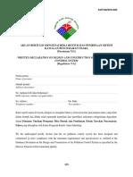 As.pub .Declare Penisytiharan Bertulis Written Declaration