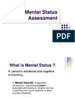 3- Mental Status Assessment