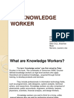 The Knowledge Worker