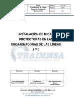 INSTALACION DE MICAS PROTECTORAS LÍNEA 1 Y 3.docx