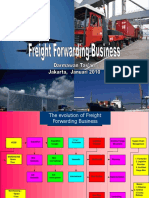 presentation of freight forwarding business