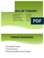 The Idea of Theory