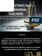 Code of Ethics (Christian) Ppt
