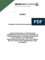 Bases Cas 2019 - Ugel Huaraz