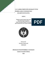 PEMANFAATAN LABORATORIUM IPS-GEOGRAFI UNTUK PEMBELAJARAN GEOGRAFI.pdf