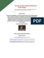 artigo ENTREVISTA MOTIVAÇÃO, VENDAS E EMPREENDEORISMO (VÍDEO ARTIGO)