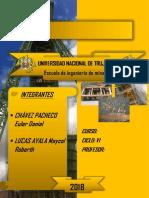 INFORME-YACIMIENTOS MINERALES