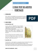 INDICE DE COLD TEST