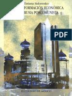 Sidorenko Tatiana. La transformación económica en la Rusia poscomunista..pdf