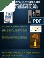 FACTORES FISICO-QUÍMICOS QUE ALTERAN EL PROCESO DE FERMENTACIÓN.pptx
