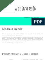 Banca de Inversion