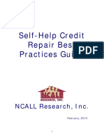 Self-Help Credit Repair Best Practices Guide