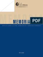 Revista Memoria nº5 2009