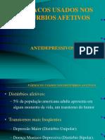 FARMACOLOGIA_Drogas Utilizadas Para o Tratamento Da Depressão