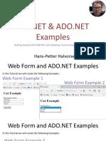 ASP.NET and ADO.NET Example.pdf